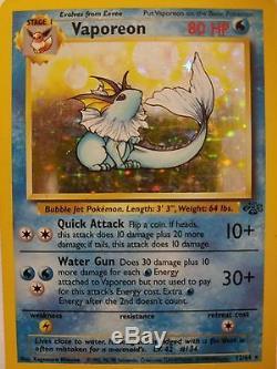 Carte Pokemon Collection Rare Original 1990 Nouvelle Condition Eevee & 3 Holo
