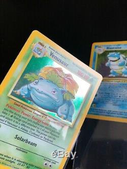 Carte Pokémon De Base Complete Collection 102/102 Ex-nm Charizard Wotc 1999 Rare