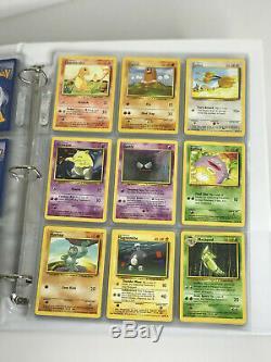 Carte Pokémon De Base Holo Rare Complète Charizard, Blastoise, Florizarre 102 Cartes