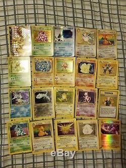 Carte Pokémon Endommagé Lot Rare Charizard Brillant