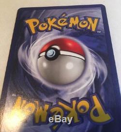 Carte Pokemon Holo Charizard 4/102 Nm + Base Set Feuille Holographique Rare Near Mint +