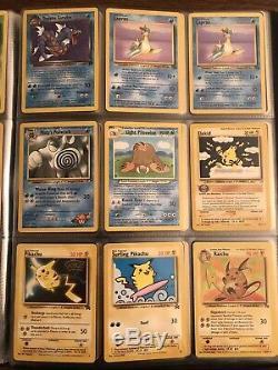 Carte Pokemon Lot Collectionneurs Complet Binder 180 Cartes Holos, Et, Urs Rares