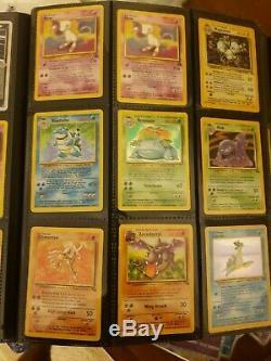 Carte Pokemon Lot Holo Rare Lot 1ère Édition Lot Wotc 5/6