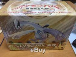 Carte Pokemon Neo Or Argent Starter Pack 1 Boîte Japonaise Rare