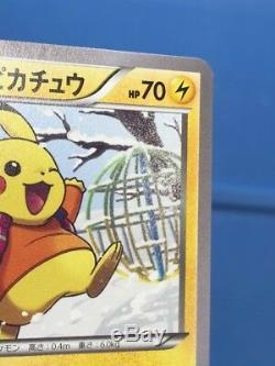Carte Pokemon Pikachu Chaude Promo Promo Japonaise Complète Avec Uniqlo Xy-p 094-097 Rare M-nm