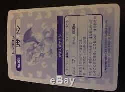 Carte Pokémon Promo Japonais 1995 Topsun Charizard Holo Dos Bleu / Ex-nm Look