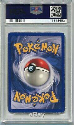 Carte Pokemon Shadowless Illimité Charizard De Base 4/102, Psa 6 Excellente-monnaie