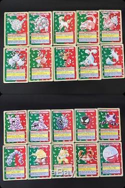 Carte Pokémon Topsun 102/150 Très Rare Charizard Mewtwo 1995 Ensemble Presque Complet