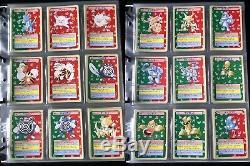 Carte Pokemon Topsun 150/150 Set Green Back Presque Complete Charizard Very Rare