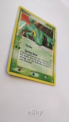 Carte Pokemon Treecko Gold Star 109/109 Ex Team Rocket Retourne Ex-nm Rare