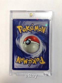 Carte Rare Vintage De Feuille De Charzard Holo De Pokemon Shadowless! Série De Base 4/102