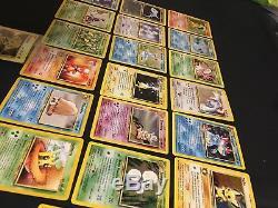 Cartes Neo Genesis Holo Pokemon Lot Rare Lot De 20 Lugia, Feraligatr, Typhlosion