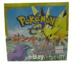 Cartes Pokemon E2 Thetownonnomap Skyridge Booster Pack Box (scellé En Usine) Japon