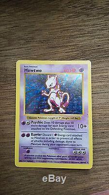 Ceci Est Une Carte 1995 Rare Holo Mewtwo À Vendre