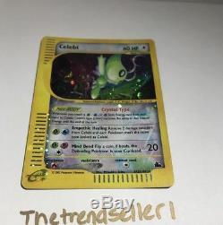 Celebi Ultra Rare Holo # 145/144 Carte Pokemon Skyridge