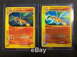 Charizard 6/165 Et 40/165 Charizard Holo Cartes Pokemon Rare Expedition Base Set