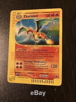 Charizard 6/165 Rare Holo Inversée Expedition Carte Pokémon