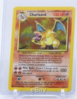 Charizard Carte Pokemon Holographic