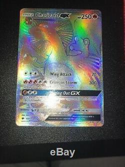 Charizard Gx Hyper Rare Burning Shadows 150/147 Rainbow Rare Nm Carte Pokémon