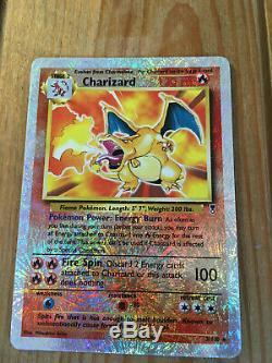 Charizard Inversée Holo Rare 2002 Legendary Collection Carte Pokemon 3/110