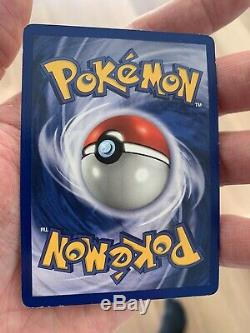 Charizard Shadowless De Base 4/102 Rare Holo Near Mint Carte Pokemon