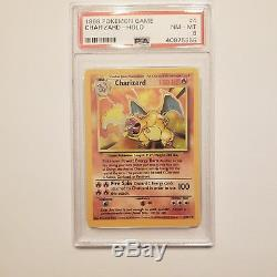 Charizard Venusaur Blastoise Psa 9 8 Base Illimité Rare Holo Pokémon Carte Menthe