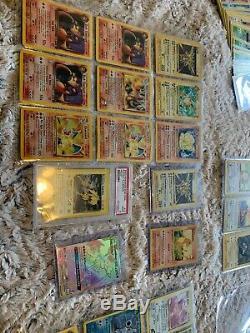 Collection Carte Pokemon 1ère Édition Monnaie Rare Vintage Scellé Gameboy Charizard