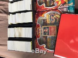 Collection Complète De Cartes Pokemon - Beaucoup De Ultra Rares, Holos Et Boosters