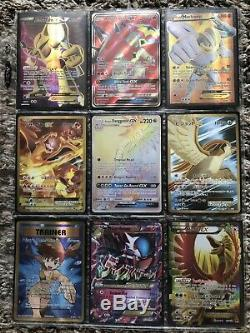 Collection De Cartables De Cartes Pokémon Lot Holos Rares, Secret Rares, Japonais / Anglais