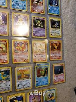 Collection De Cartes Pokémon 42 Halos Inclus Rares Charizard Blastoise Ultra Rare