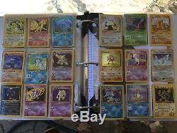 Collection De Cartes Pokemon Avec Près De 1000 Cartes Incl. Rares Et Holos