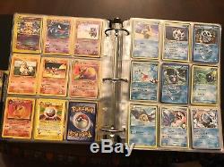 Collection De Cartes Pokemon, Full Binder. Beaucoup De Cartes Rares Voir La Description