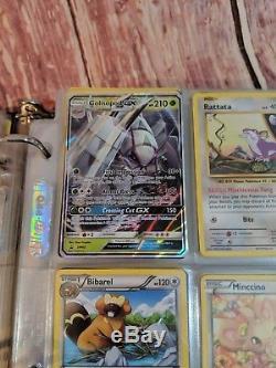 Collection De Cartes Pokémon Plus De 500 Avec Le Cartable Holo Gx Ex Rare En Japonais