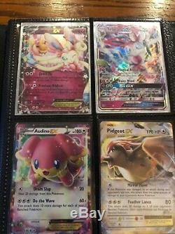 Collection De Cartes Pokémon Rare Et Cartable Pour La Plupart Ex Et Full Art