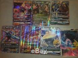 Collection De Cartes Pokemon Tcg Avec Des Tonnes De Gx, Exs, Holo Rares Et Secret Rares