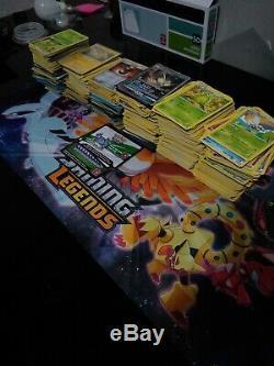 Collection Massive De Cartes Pokemon 1000+, Arts Complets, Secrets Rares, Gx, Holos Et Plus