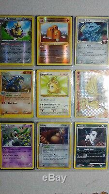 Collection Vintage & New Pokemon Binder Carte 350+ Lot Chardizard & Holos Rares