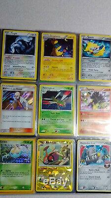 Collection Vintage & New Pokemon Binder Carte 450+ Lot Chardizard & Holos Rares