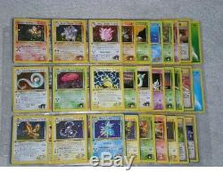 Complete 1er Pokemon Édition Gymnase Heroes Card Set 132/132! Ultra Rare Ed