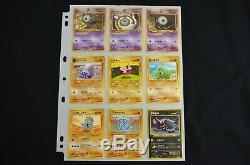 Complete Neo Discovery Set Japanese 2000 56/56 Pokemon Card Suivi Gratuit