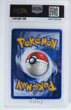 Cristal Lugia 149/147 Aquapolis 2003 Wotc Pokemon Card / Psa 9 Monnaie / Secrète Rare