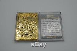 De Base Charizard D'or Carte Pokemon Rare Limited Edition