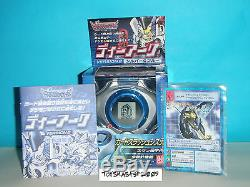 Digimon Digivice D-power Renamon Ver 2.0 Bleu Couleur Avec Cartes Rare Dernier