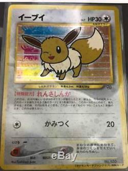 Eevee Pokemon Fan Club Carte Limitée Nintendo Specia Très Rare Japan