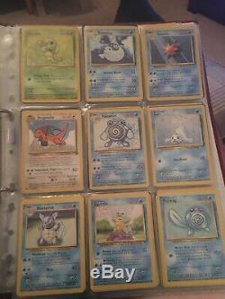 Emploi Fusée Cartes Pokemon Wotc Beaucoup Charizard Blastoise Anciennes Cartes Rares
