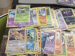 Énorme 1100+ Carte Pokemon Lot Collection 258 Ex 23 Cartes Rares 900+ Communes
