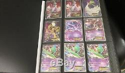 Énorme 129 Cartes Pokemon Ex Rare Holo Collection Tcg Lot Ultra Pro Binder Inclus