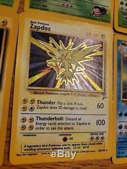 Énorme (400) Collection Pokemon Cartes Lot Grande Carte Holo Foil Rare Début Vf-nm