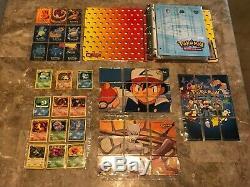 Énorme Collection De Cartes Pokemon! Base, Jungle, Fossil Set Charizard! Rare Holo Lot