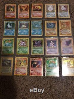Énorme Et Très Rare Classique Et De Nouvelles Cartes Pokemon Lot Vintage 1990's-maintenant. Wow Look